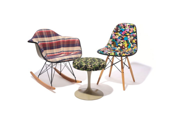 A Bathing Ape 2014 Fall Original Textile Furniture Collection
