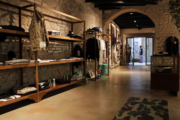 A Bathing Ape Opens Another Official Dealer Store in Italy