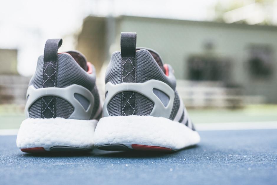 a closer look at the adidas primeknit pureboost grey black