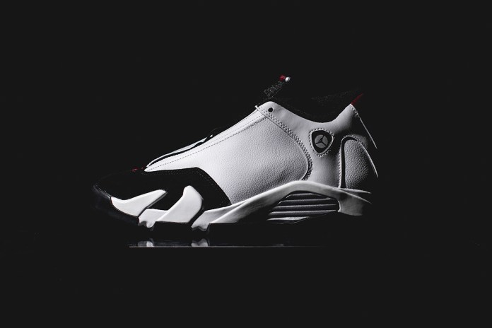 A Closer Look at the Air Jordan 14 Retro White/Black