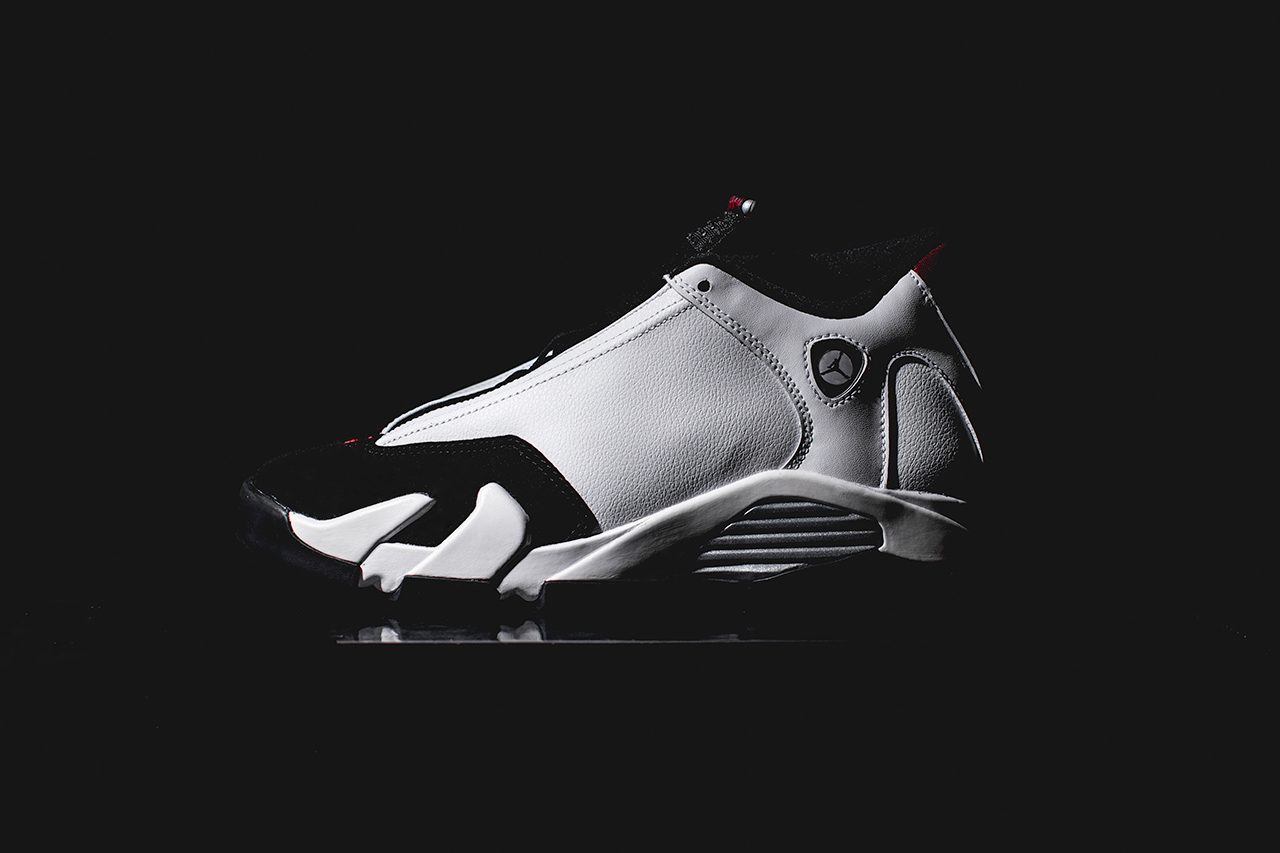 A Closer Look at the Air Jordan 14 Retro White/Black