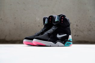 A Closer Look at the Nike Air Command Force Black/Wolf Grey-Hyper Jade-Hyper Pink