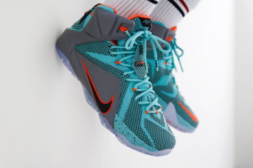 """A Closer Look at the Nike LeBron 12 """"NSRL"""""""
