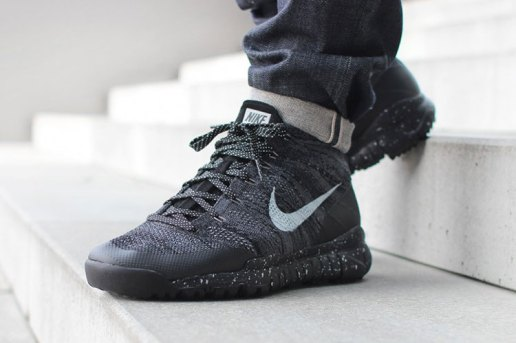 "A First Look at the Nike Flyknit Chukka Trainer FSB ""Light Charcoal"""