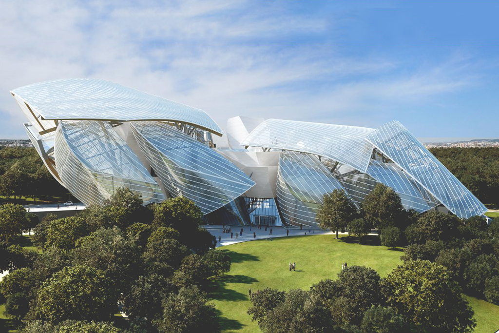 A Look at the Fondation Louis Vuitton Building