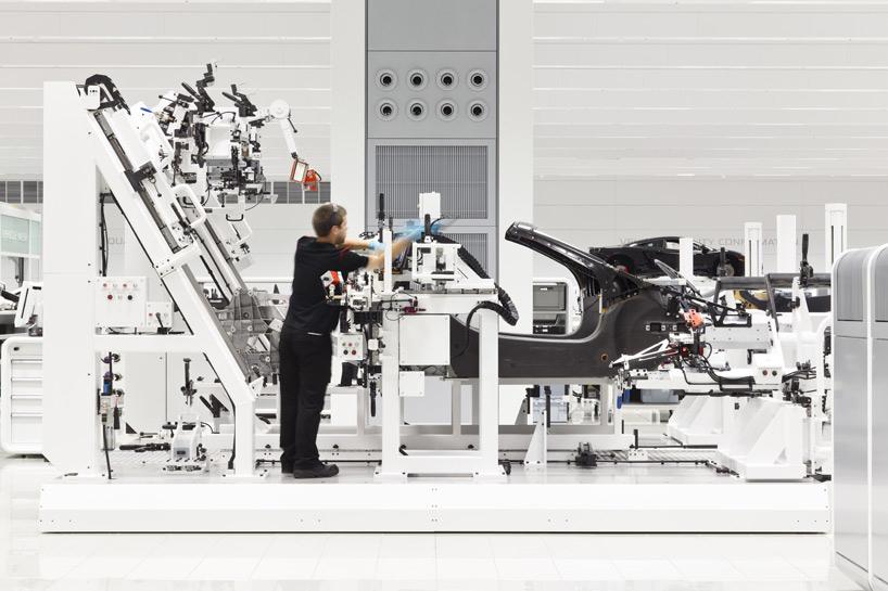 A Look Inside McLaren's UK Production Center