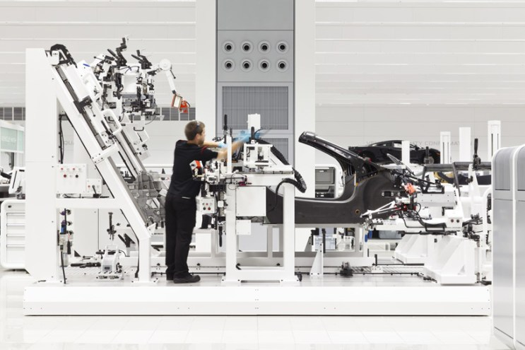 A Look Inside McLaren's UK Production Center