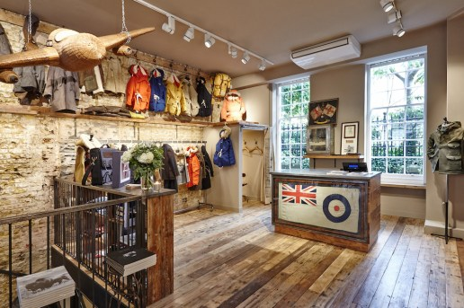 "A Look Inside Nigel Cabourn's ""The Army Gym"" Store in London"