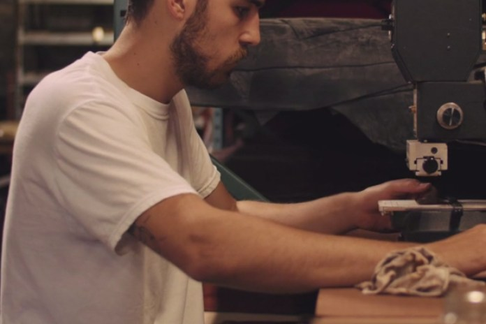 A Look Inside Tanner Goods' Workshop