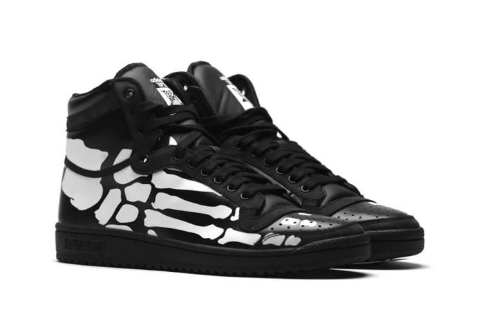 "adidas Originals Top Ten Hi ""Skeleton"""
