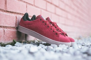 adidas Stan Smith Vulc Burgundy