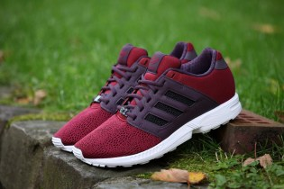 adidas Originals ZX Flux 2.0 Burgundy/White