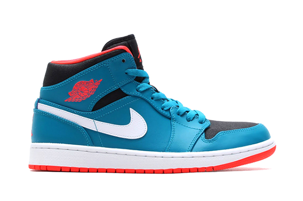 "Air Jordan 1 Mid ""Tropical Teal"""