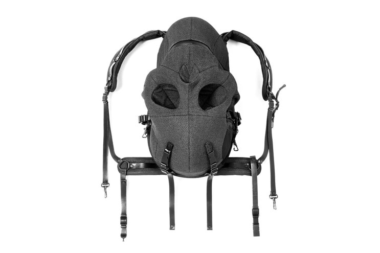 Aitor Throup for Dover Street Market 10th Anniversary Skull Rucksack