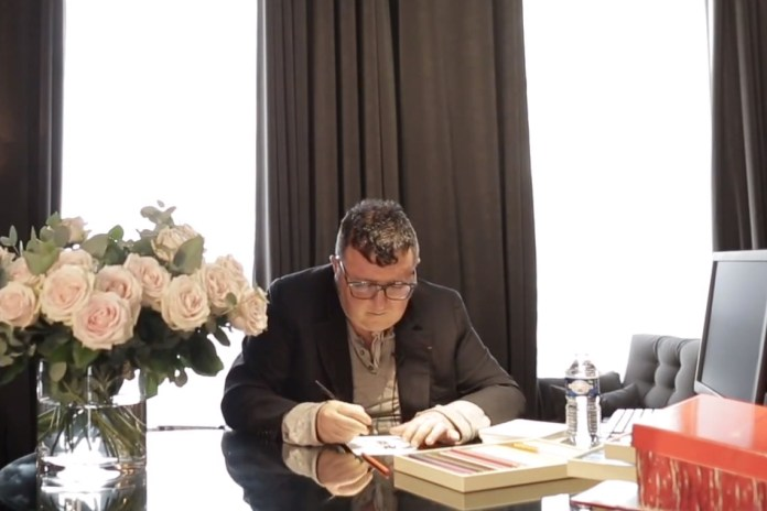 Alber Elbaz Sits Down with The New York Times in His Paris Studio