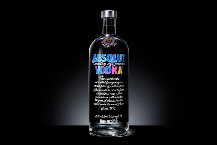 Andy Warhol x Absolut Limited Edition Bottle