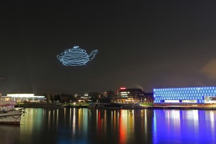 Ars Electronica Lights Up the Sky with LED-Equipped Quadcopters