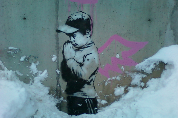 Banksy Vandal Sentenced to Pay Restitution or Face Jail Time