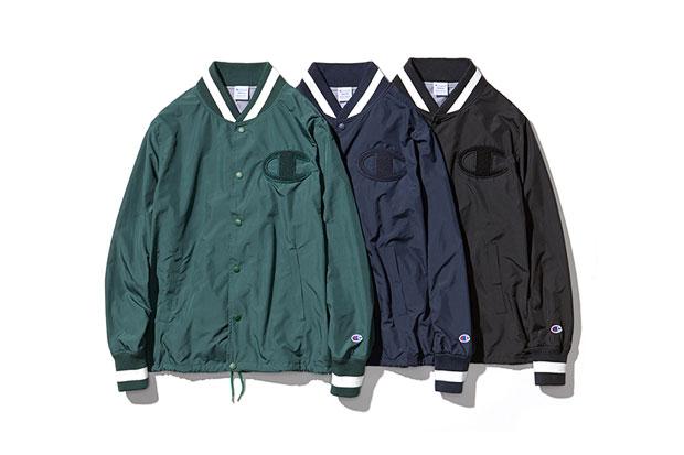 BEAUTY & YOUTH x Champion Japan 2014 Fall Special Jacket