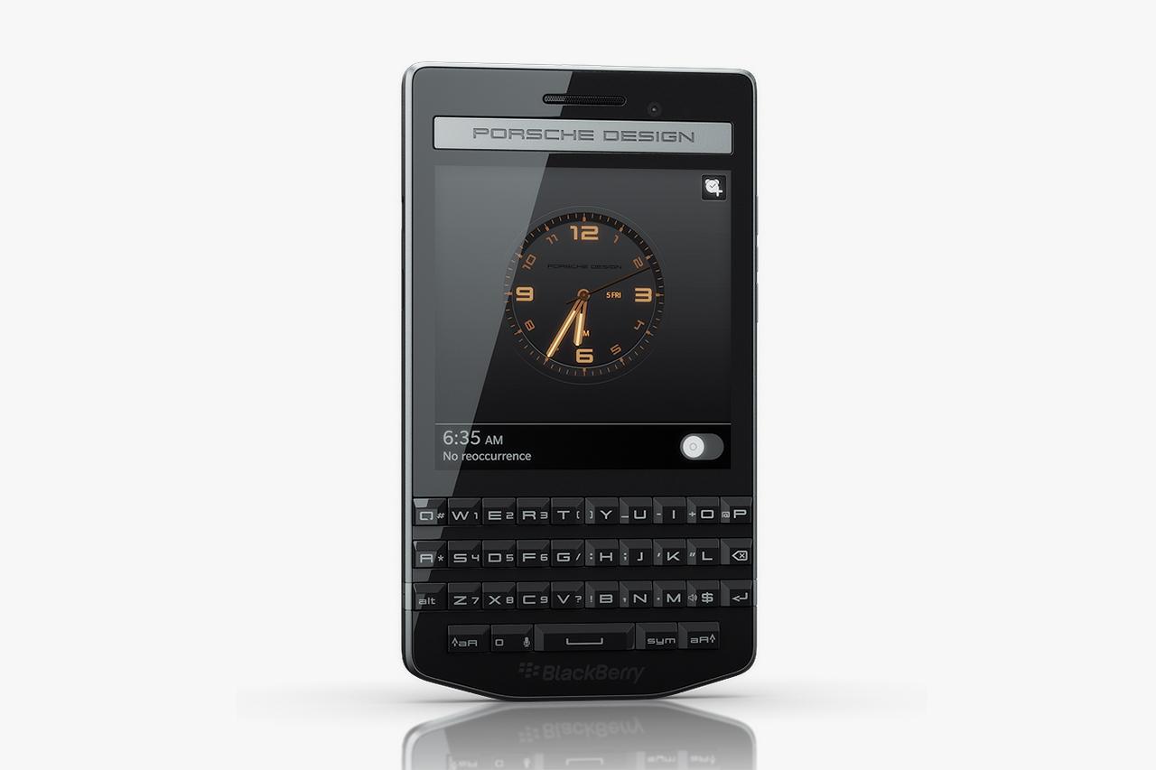Blackberry Presents the Porsche Design P'9983 Smartphone