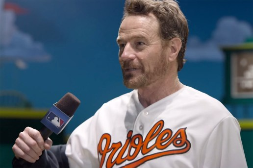 "Bryan Cranston Performs One-Man ""MLB on TBS"" Postseason Show"