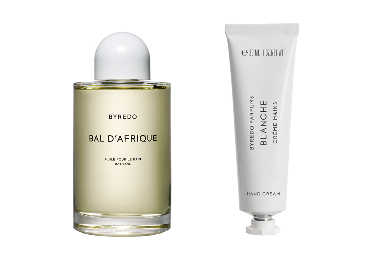 BYREDO Hand Creams & Bal d'Afrique Bath Oil