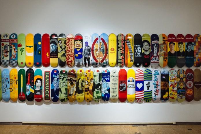 Chocolate Skateboards' 20th Anniversary Art Exhibition