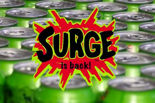 "Coca-Cola to Bring Back Citrus Soda ""Surge"""