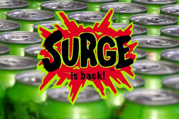 "Coca-Cola to Bring Back Citrus Soda ""Surge"""
