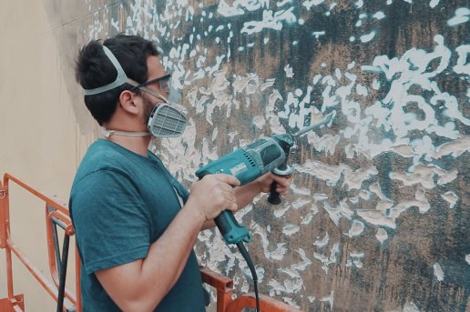 Creation Via Destruction with Vhils