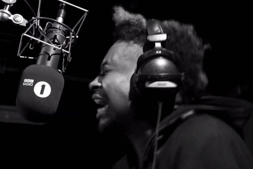 Danny Brown Freestyle for BBC Radio 1