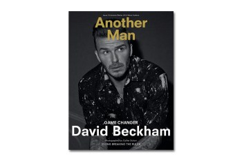 David Beckham Covers Another Man's 2014 Fall/Winter Issue