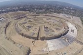 Drone Reveals Apple's New Spaceship Campus