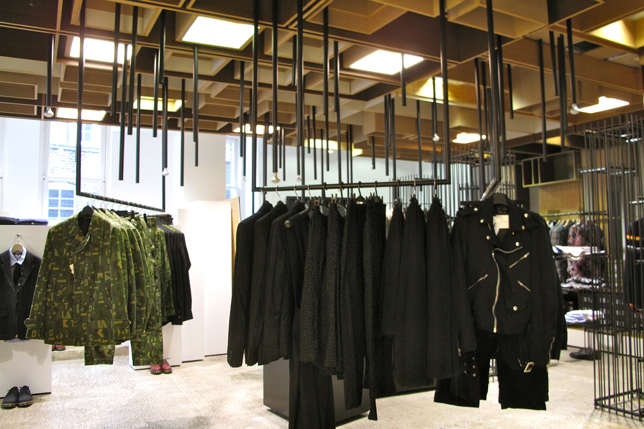 A Look Inside the Build-Out for Dover Street Market London's 10th Anniversary