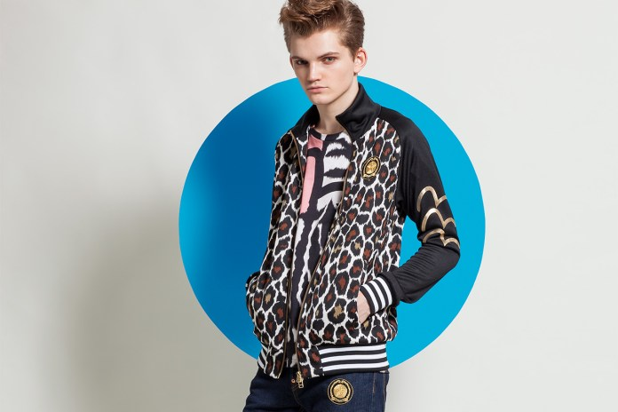 EVISU x DRESSCAMP First Mash-Up Lights Up Fall 2014 with Bold Jungle Prints and Sporty Couture