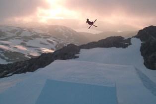 "Freeskiing with Aleksander Aurdal in Short Film ""Crash and Learn"""