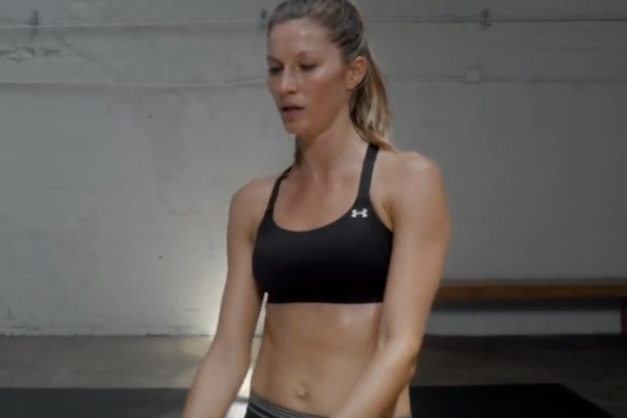 """Gisele Bündchen Stars in Under Armour's """"I Will What I Want"""""""