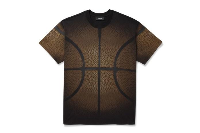 Givenchy Columbian-Fit Basketball-Print T-Shirt