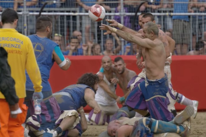 """Welcome to the World of """"Gladiator Football"""" by Jonathan Glazer"""