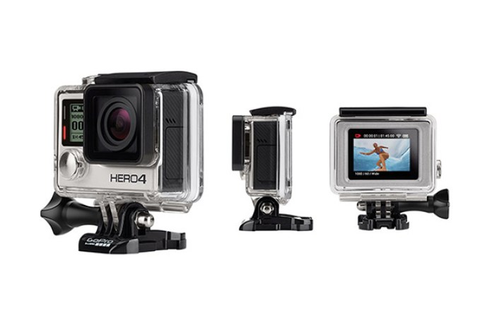 GoPro HERO4 Features Touch Display and Shoots 4K Video at 30FPS