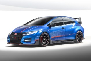 Honda Unveils the Civic Type R Concept II