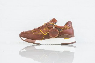 Horween Leather and New Balance Team Up to Release the $400 USD M998DW