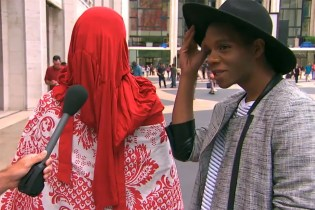 "Jimmy Kimmel Trolls New York Fashion Week with ""Lie Witness News"""