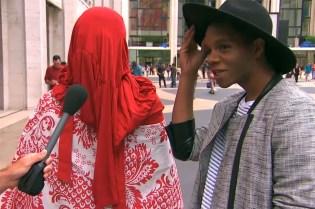 """Jimmy Kimmel Trolls New York Fashion Week with """"Lie Witness News"""""""