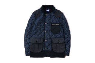 Junya Watanabe MAN 2014 Fall/Winter Nylon Taffeta Quilted Collection