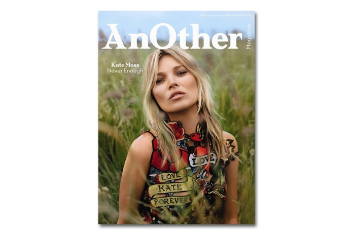 Kate Moss Covers AnOther Magazine's 2014 Fall/Winter Issue