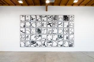 "KAWS ""Man's Best Friend"" @ Honor Fraser Gallery Recap"