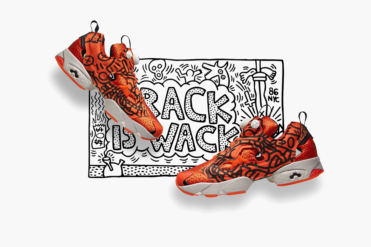 """Keith Haring x Reebok 2014 Fall/Winter """"Crack is Wack"""" Collection"""