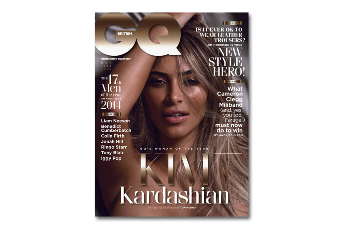 "Kim Kardashian Named ""Woman of the Year"" by British GQ"