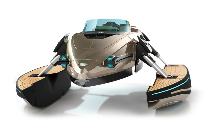 Introducing the Kormaran, a Luxury Futuristic Speedboat